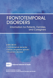 Frontotemporal Disorders: Information for Patients
