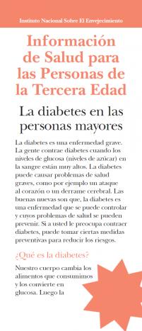 La diabetes en las personas mayores
