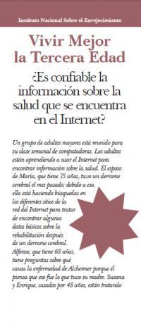 Es confiable la informacion sobre la salud que se ecueuntra en el Internet? (Online Health Information)