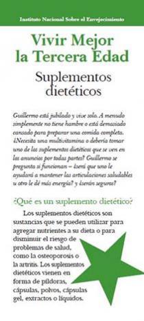Suplementos dieteticos (Dietary Supplements)