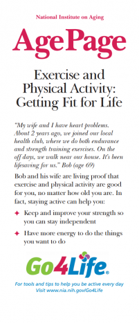 Exercise and Physical Activity: Getting Fit for Life
